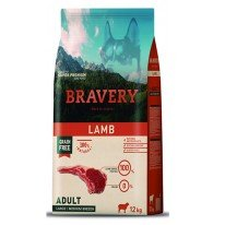 BRAVERY ADULTO LAMB SMALL BR. 2KG.