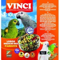 VINCI MIXTURA LOROS MEDIUM 1KG